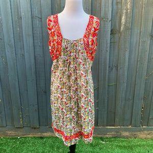 Rebecca Thompson floral embroidered dress 1/AU10